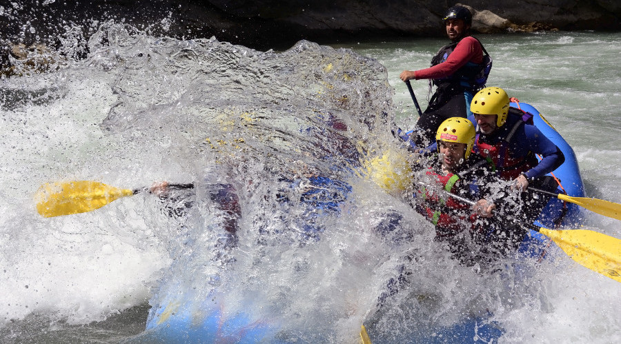 Rafting en el Gallego