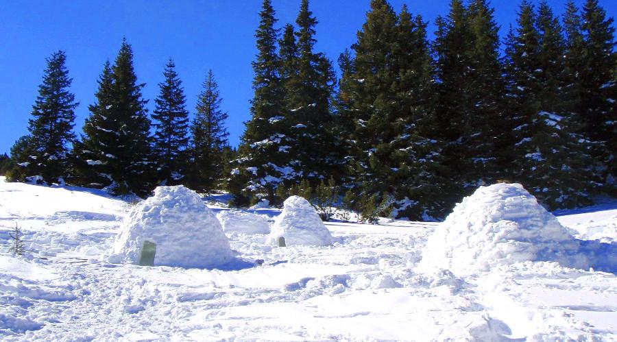 Vivac invernal en Valle de Tena, Pirineos
