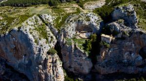ermitas rupestres de la sierra de guara