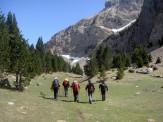 Viajes a pie por el Pirineo