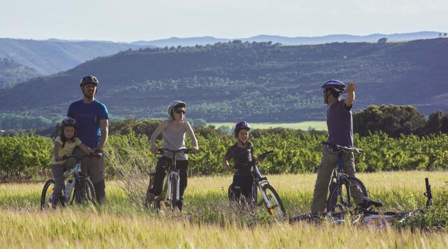 Viajes con niños en bicicleta