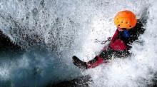Actividades y aventura. Descenso de barrancos en la sierra de Guara
