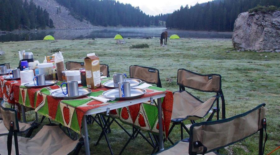 Campamento vivac