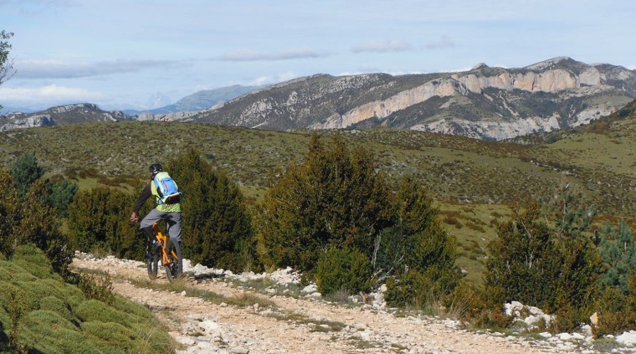 Travesia enduro Pirineo