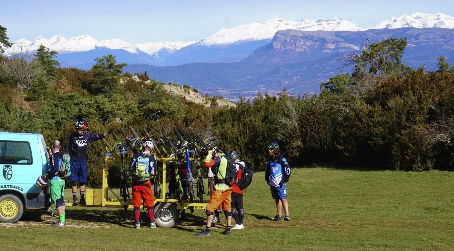 Transporte y remontes de bicicletas y bikers