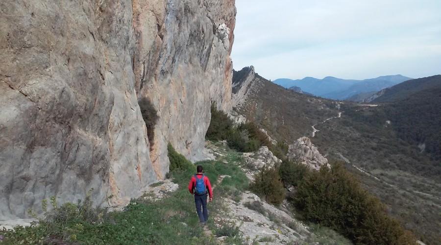GR1 trail Pyrenees