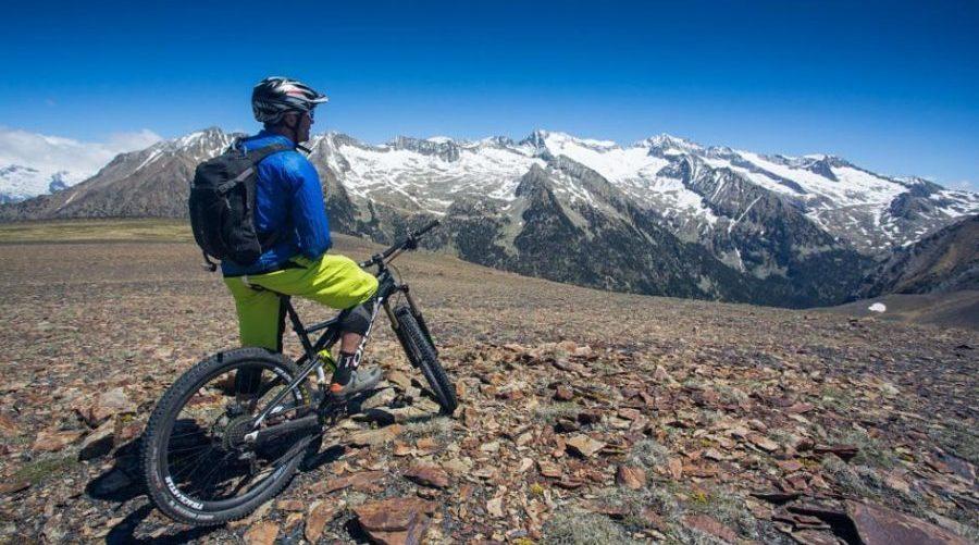 ciclomontañismo en Pirineos