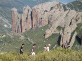 Travesia GR1 trail. Sendero Histórico. Pre-Pirineo