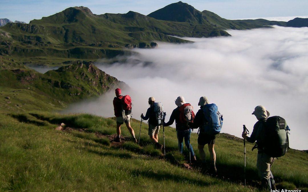 Trekking in pyreneesLa Senda de Camille 7 stages