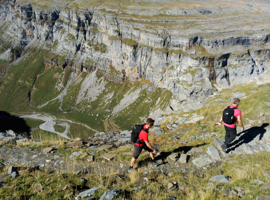 GR-11 The Pyrenees' trail. Auto-guided trekking with vehicle support