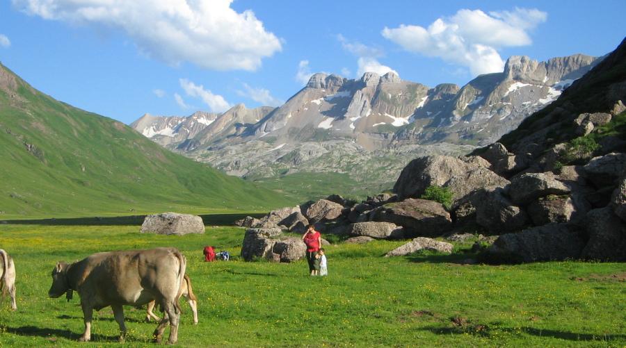 Jaca y Valles occidentales, Pirineos